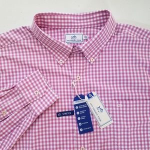 NEW Southern Tide Intercoastal Button Front Shirt